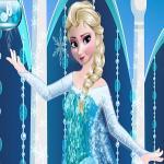 Elsa Prom Dress Up