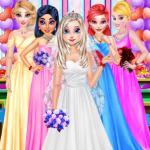 Elsa's Wedding Party