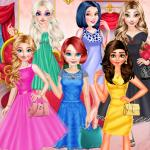 Princesses Different Color Skirt Tryout